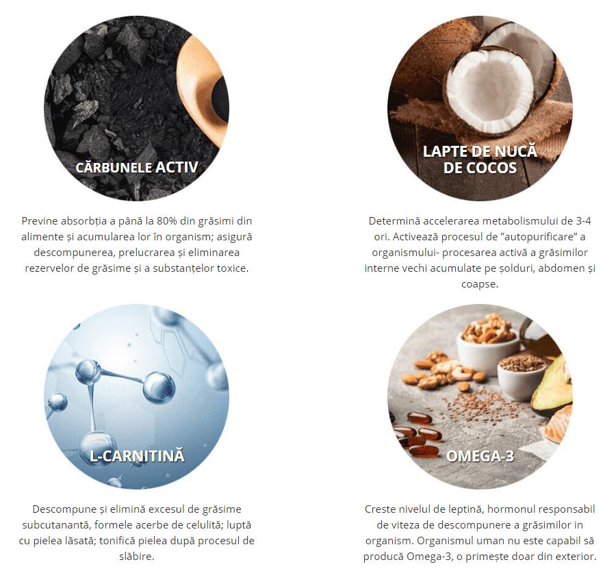 slabirea de cafea black latte