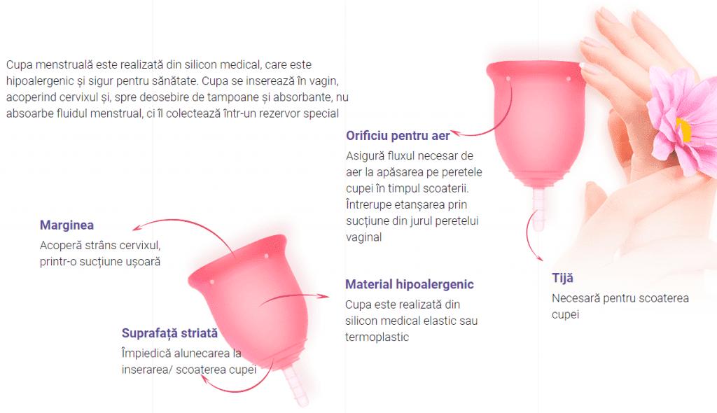 menstrual cup instructiuni