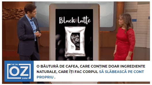 black latte pret in farmacii