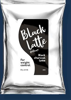 black latte pret