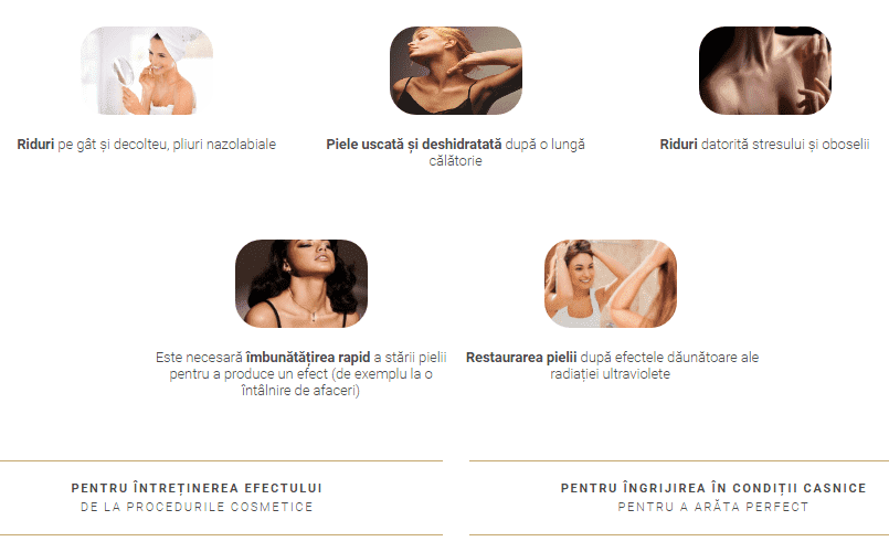 décolletage pad ingrediente